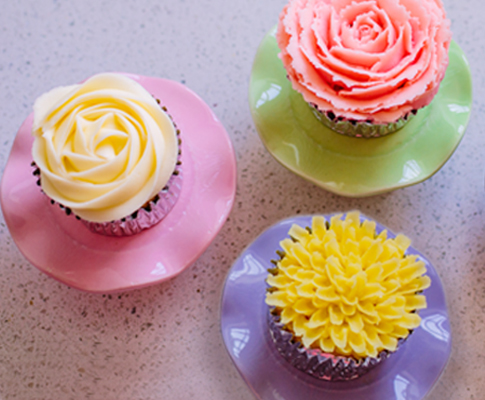 Buttercream-Flower-Cupcakes