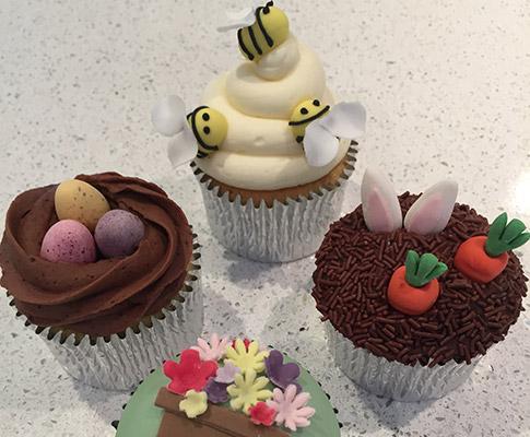 Spring-Cupcakes